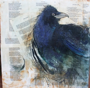 Mixed media, by Shannon Thal Troxler